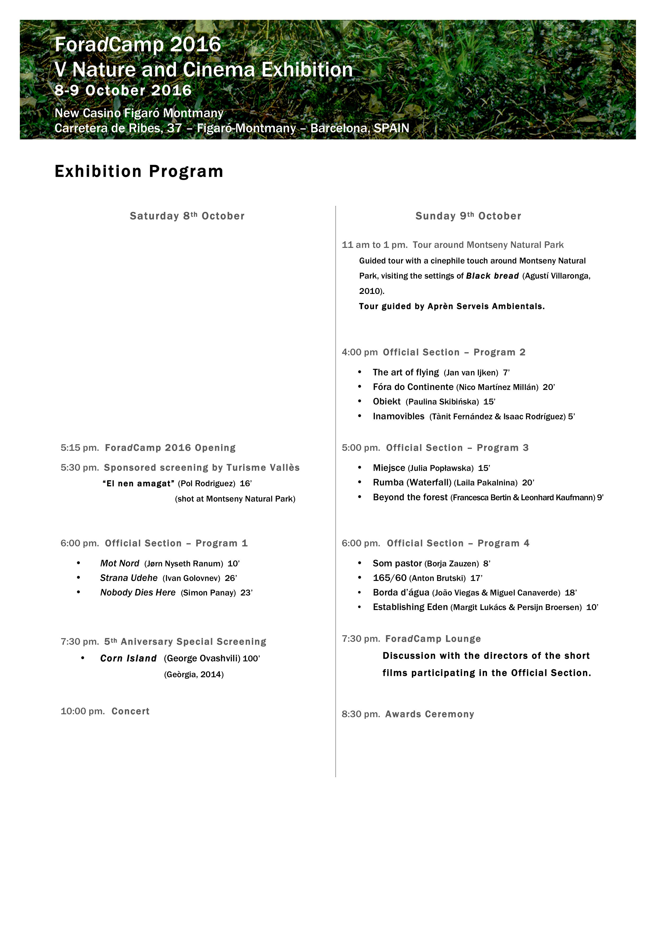 foradcamp-2016-exhibition-program
